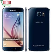 Samsung Galaxy S6/S6 край G925F мобильного телефона Octa core 3 ГБ Оперативная память 32 ГБ Встроенная память LTE 16MP Android 5.0 разблокирован смартфон