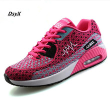 2016 Weave Fly Apartments Women Trainers Breathable Outdoor Leisure  Shoes Walking Woman Flat Shoes Zapatillas Mujer Index