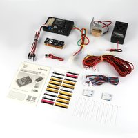 G.T.Power Lighting Voice Vibration System PRO APP Control for RC Car Parts Container Truck Control Box Board ESC Mode