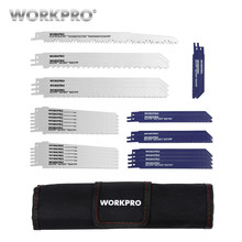 WORKPRO 32PC Saw Blades for Wood Metal Cutting Blades Reciprocating Saw Blade Set Jigsaw Blade(China)