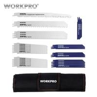 WORKPRO 32PC Saw Blades Metal Cutting Blades Reciprocating Saw Blade Set for Wood PVC Fibreboard Cutting