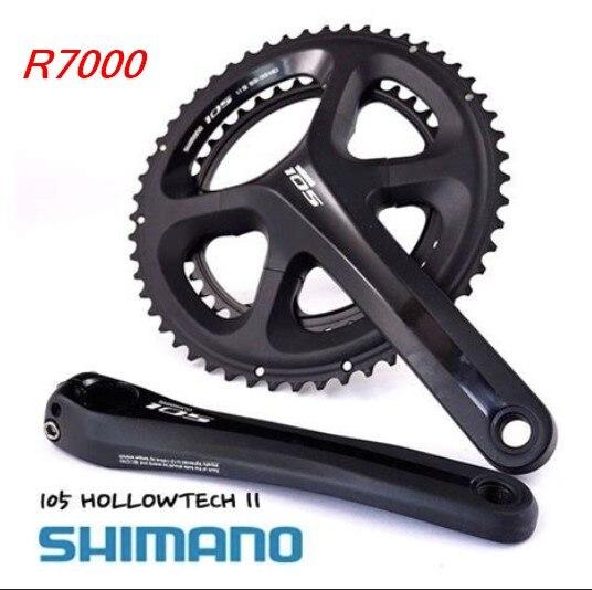 Shimano FC-5800 11 s vélo de route manivelle vélo chaîne roue pédalier 105 R7000 HOLLOWTEC FC-R7000 pédalier 2*11 s