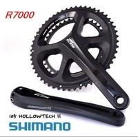 Shimano FC 5800 11 s дорожный мотоцикл рукоятки Велосипеды цепи велосипеда колеса шатуны 105 R7000 HOLLOWTEC FC R7000 шатуны 2*11 s