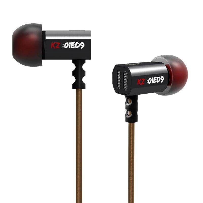 2015 neue Ankunft Original KZ ED9 3,5mm in ohr Kopfhörer Schwere Bass HIFI DJ Stereo Ohrstöpsel Lärm Isolieren Mit mic Headset E57