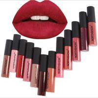 60pcs/100pcs Hot Selling Liquid Matte Lipstick Waterproof Lipgloss Long Lasting Batom Makeup Pencil Batons Nude Color Labiales
