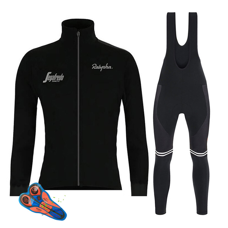 2019 Spring/autumn New Black Long Sleeve Cycling Jersey Set Bib Pants Ropa Ciclismo Bicycle Clothing MTB Bike Jersey Men Clothes2019 Spring/autumn New Black Long Sleeve Cycling Jersey Set Bib Pants Ropa Ciclismo Bicycle Clothing MTB Bike Jersey Men Clothes