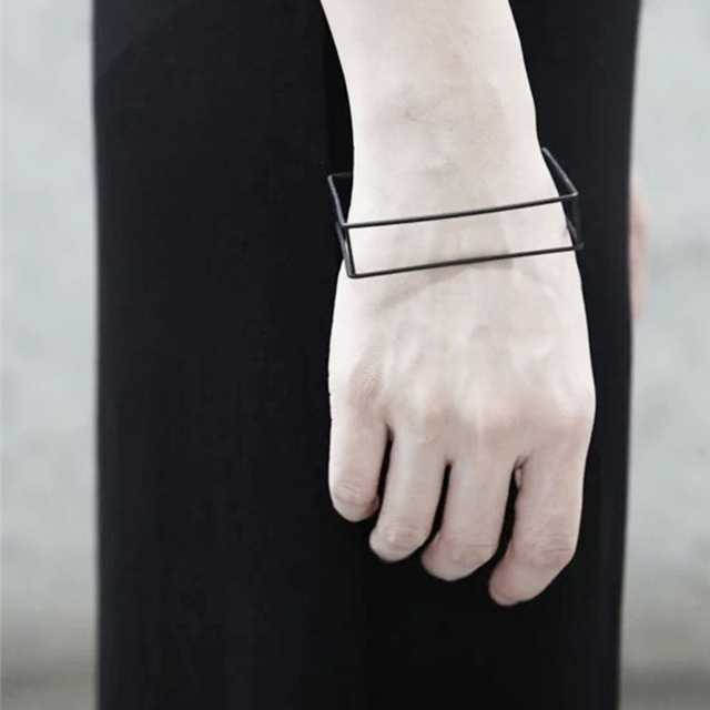 Nordic Minimalist Bangle & Ring & Earring 4