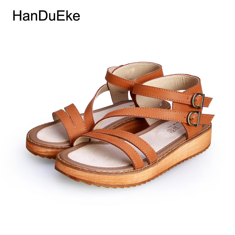 Summer Shoes Woman Hot Selling Sandals Women 2017 Peep-toe Flat Shoes Roman Sandals Women Sandals zapatos Mujer Sandalias women shoes summer women sandals 2017 peep toe gold silver roman sandals shoes platform brand creepers woman sandalias size 43