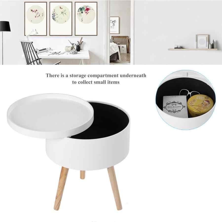 탁상용 쟁반 디자인 38*45 cm 북유럽 가구를 가진 현대 작풍 단단한 저장 둥근 측 커피 테이블