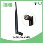 1pcs Wifi Antenna 2.4Ghz 5dbi gain Omni with RP-SMA male connector Wireless AP