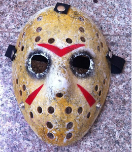 Image 3 - 1pcs/lot Black Friday NO.13 Jason Mask Voorhees Freddy hockey festival party Halloween masquerade (adult size) Masks 100gram