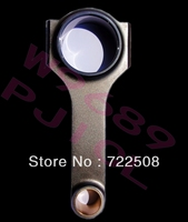 H beam conrods for Ford Zetec 2.0 Silver top 4340 Forged Steel sports performance racing Connecting Rods free shipping 3/8''