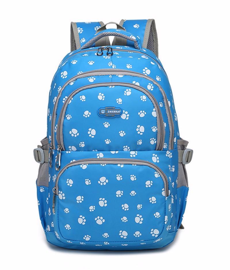 Fashion kids book bag breathable backpacks children school bags women leisure travel shoulder backpack mochila escolar infantil 17