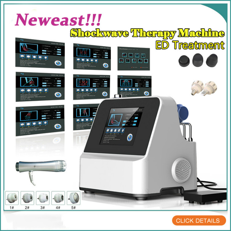 Shock Wave Machine Shockwave Therapy Machine Extracorporeal Shock Wave Therapy Equipment ED Sexual Erectile Dysfunction