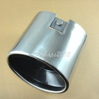 2016New Chrome Exhaust Stainless Muffler Tip For Honda For Accord 2008 2009 2010 2011 2012