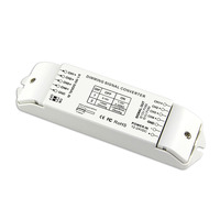 4 Channels LED Dimming Signal Converter Signal Driver 0/1 10V to PWM 5V/PWM 10V 2 DIP Switches Controller For Led Strip