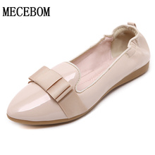 Women Flats Shoes Brand Egg roll shoes Flats Womens Pointed Toe Flats For Women Bow  Flats Size 35-40