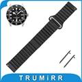 18mm 20mm 22mm correa de piel genuina para tudor reloj banda correa de liberación rápida hebilla magnética correa de la muñeca pulsera