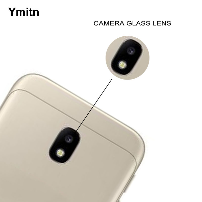 3PCS Ymitn New Housing Back Rear HD Camera Glass Lens Cover With Adhesive Replacement For Samsung Galaxy J3 2017 J330f SM-J330F