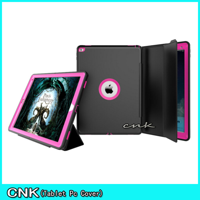 ФОТО Case Cover For Apple iPad Pro 12.9 Kids Safe Armor Shockproof Full Body Smart Sleep Hard Case Cover W/ Bulit-in Screen Protector