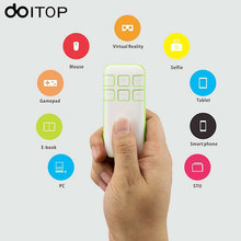 DOITOP Bluetooth Wireless Gamepad Android IOS Game Pad Remote Controller Joystick VR Remote For Smartphone TV VR 3D Glass Box B4