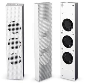 Image 3 - Xbox um s ventilador de refrigeração com 2 portas usb hub e 3 h/l ajuste de velocidade ventiladores de refrigeração cooler para xbox um console de jogos magro + tampões