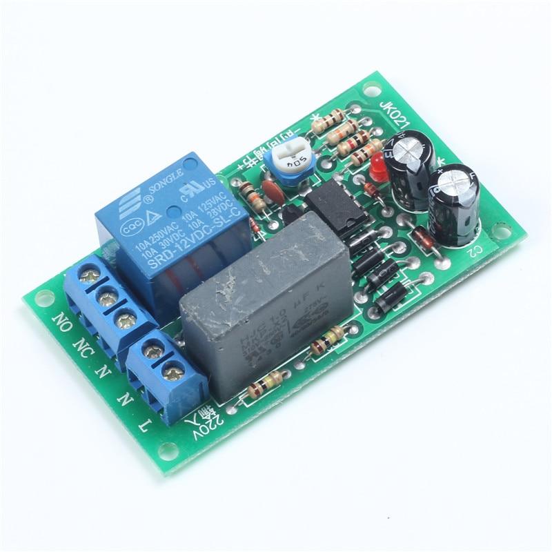 【ᗑ】jk021 Delay Relay Module ᗐ Ac220v Ac220v 1 200s Ac220v