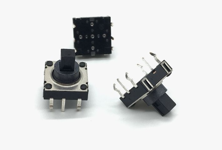 100pcs 10x10x10 mm Navigation Switch 5 Directions Height 10 0 mm 6 Pins Tact Switch PCB