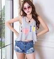 Бесплатная доставка весна лето женщин девушки европа и америка корейской мода с низкой талией отверстия джинсовые шорты джинсы