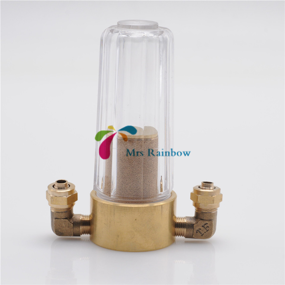 New 1Set Dental Water Filter Copper Valve For Dental Chair Accessory 1 2 built side inlet floating ball valve automatic water level control valve for water tank f water tank water tower