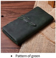 Genuine Leather Ladies Wallet High capacity Casual Fashion Long Clutch Bag