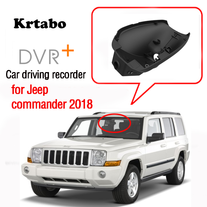 For Jeep Commander 2018 Car DVR Wifi Video Recorder Dash Cam Camera High Quality Night