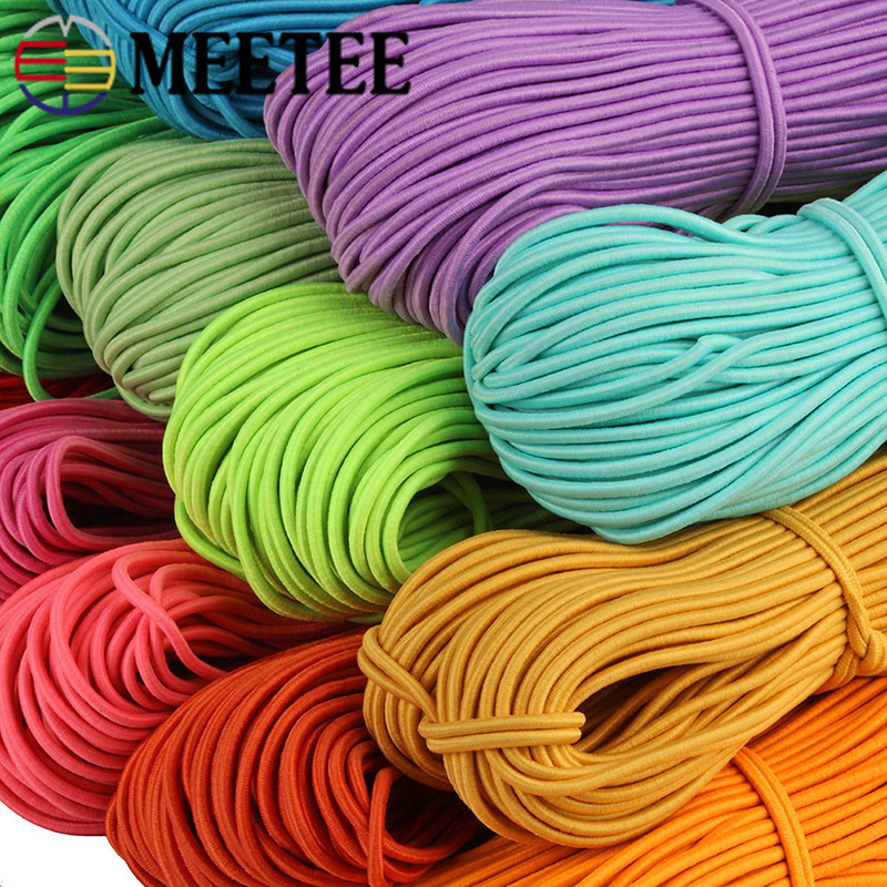 Polyester ParaCord 5mm TURQUOISE Braided Rope Cord Lace Color Sewing Trim Craft