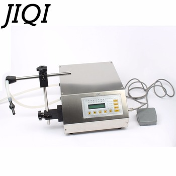 Digital Control Pump Liquid Filling Machine LCD Display Mini Electric Oil Perfume Water Softdrink Milk Bottles Filler 110V-220V 1