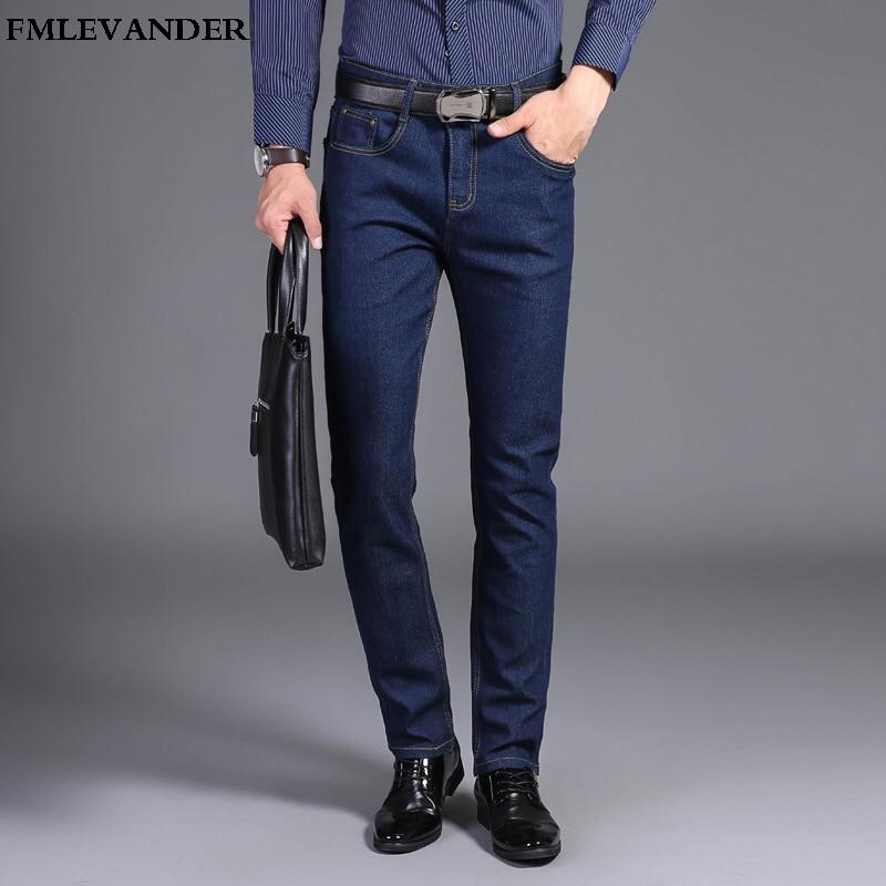 High Quality Casua Thin Summer Denim Biker Jeans For Men Large Size 38 Straight Men Pants Jeans
