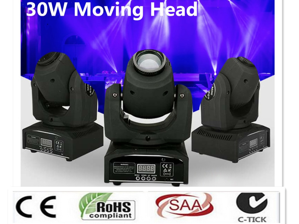 30W LED Spot moving head Light disco party lights dmx stage spot gobo led moving head light new original for hp envy 15z q100 m6 n palmrest keyboard bezel upper top case cover shell 774153 001 760040 001