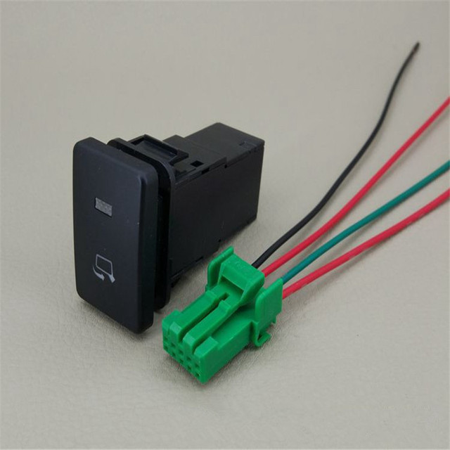 JINGHANG For Toyota RAV4 Rear view mirror folding switch with wire Spotlight switch button in black_640x640 2014 rav4 rear view mirror wiring wire center \u2022