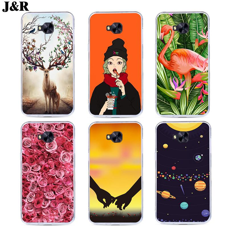 J&R Flower <font><b>Phone</b></font> Cover For <font><b>Asus</b></font> <font><b>ZenFone</b></font> <font><b>4</b></font> <font><b>Selfie</b></font> Pro ZD552KL <font><b>Case</b></font> 5.5