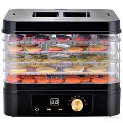 Household food Dehydrator D2 Dried fruit machine Multifunction Fruit/vegetable/meat dryer 5-layers food drying machine 220v 1pc