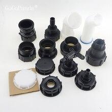IBC бак клапаны бак для воды садовый шланг адаптер фитинги тонн ведро аксессуары