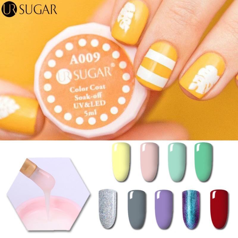 Opal Glitter Nail Polish: Aliexpress.com : Buy UR SUGAR 5ml Opal Jelly Chameleon