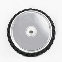 8 inch 50mm Thickness Serrated Rubber Contact Wheel Belt Sander Polishing Wheel Abrasive Belts Set