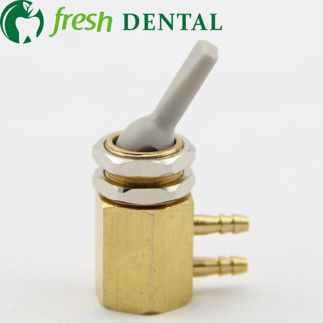 Una PC Dental Dental Válvula De válvula de pie del interruptor de pie del pedal interruptor controlador productos accesorios Dental unidad Dental silla SL-1270