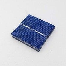 Policristalino do Painel Carregador de Bateria 100 PCS 0.5 V 0.25 W 0.5a 39*39mm Silício Solar DIY DA Célula