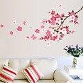 120x50 cm flor flor de Cerejeira Adesivos de Parede do Fundo Da Parede À Prova D' Água Adesivo 739 Decors Murais decalques para Quarto