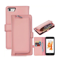 2in1 Wallet Case Back Cover For Apple IPhone 6 6s 6 Plus 7 7plus Flip PU