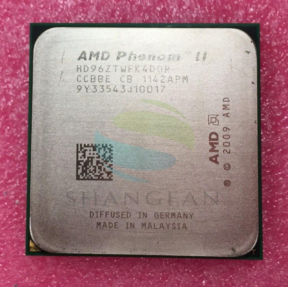 AMD Phenom X4 960T 3GHz Quad-Core CPU Processor HD96ZTWFK4DGR 95W Socket AM3 938pin