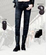 Бесплатная Доставка 2016 Uglybros moto брюки UBp09 стильные джинсы женские джинсы Мото брюки Джинсы девушка джинсы motor брюки Черный