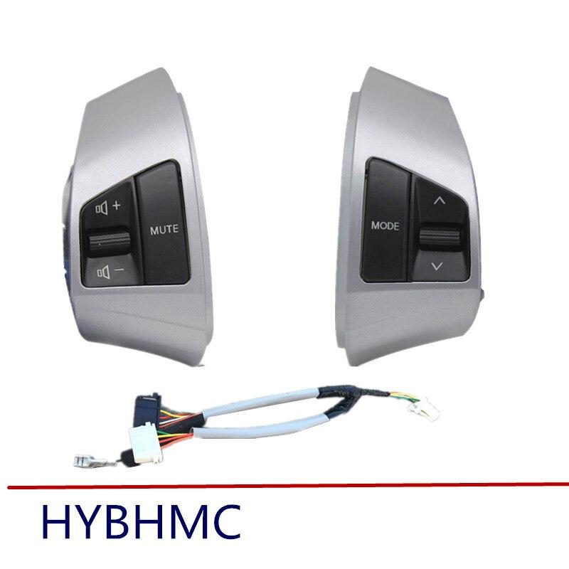 For Hyundai Elantra HD Multifunction Steering Wheel Remote Control Button power steering pump for 01 06 hyundai elantra sedan oem 57100 2d100