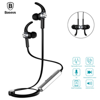 Baseus Magnet Wireless Bluetooth Earphone Headphone B11 For IPhone 7 Samsung Sport Running Stereo Hifi With